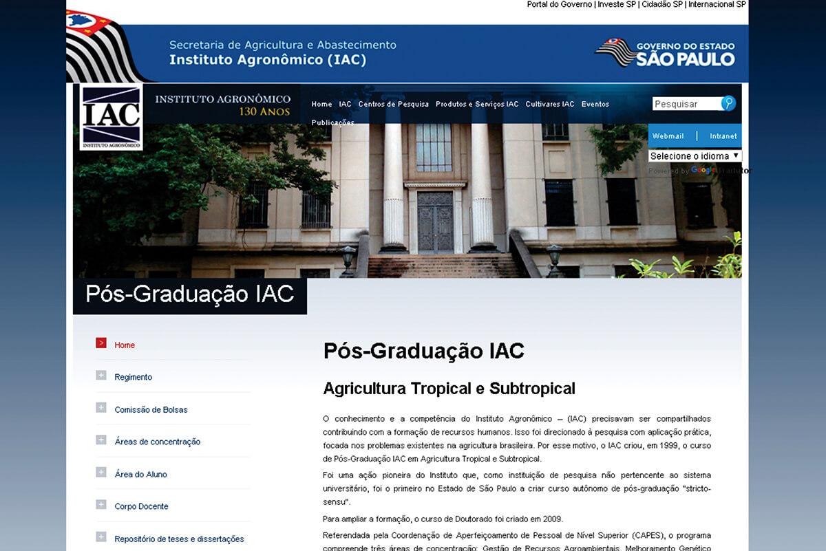 Pós-Graduação do Instituto Agronômico (PPG-IAC)